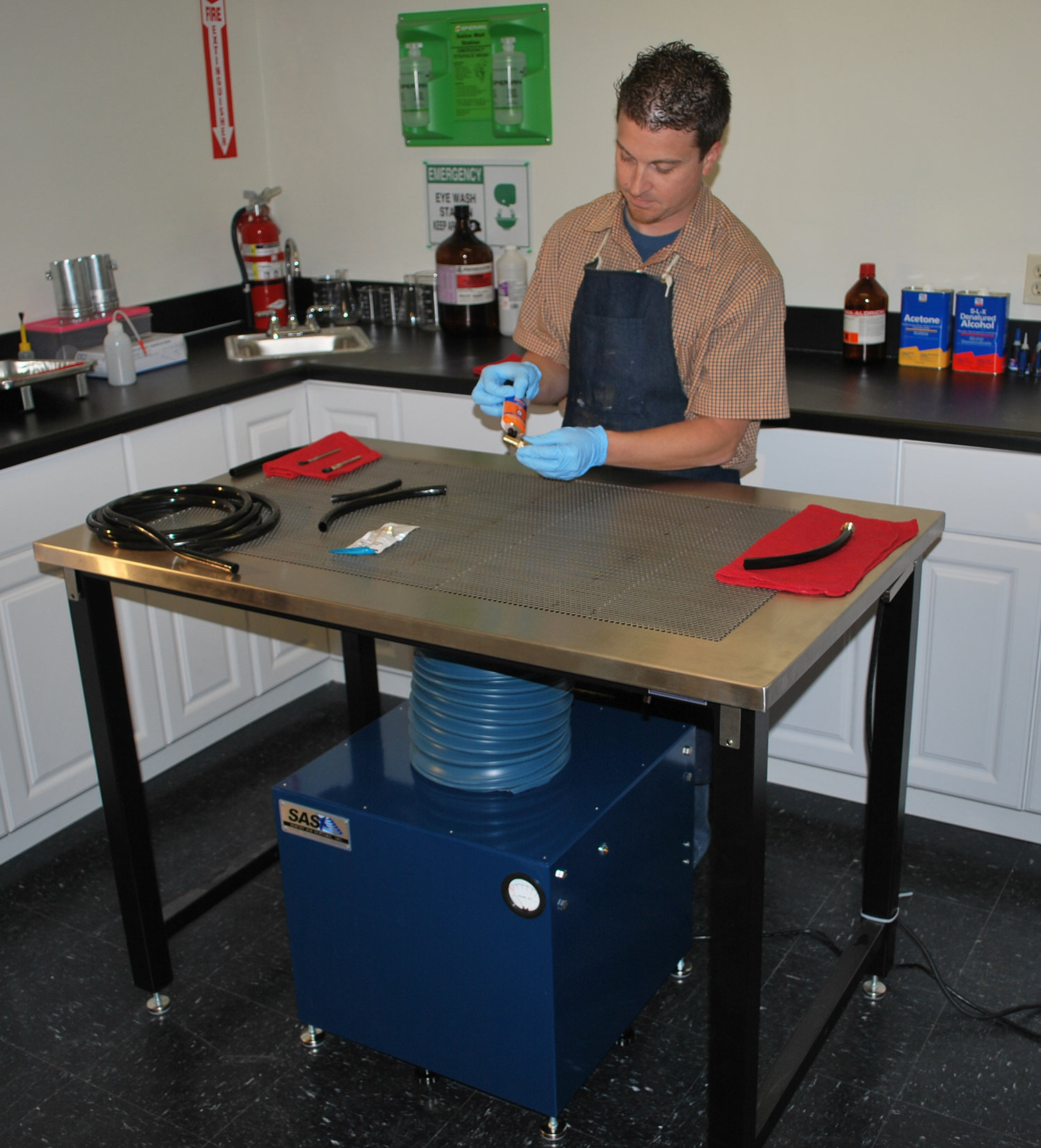 Industrial Downdraft Tables Sentry Air Systems Inc