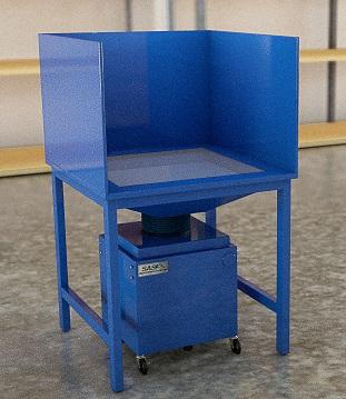 SAS_Mini Downdraft Table