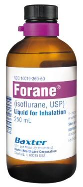 Forane_isoflurane