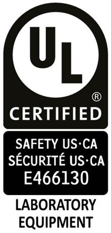 Sentry Air's U: certification mark for 61010-1 Laboratory Equipment.