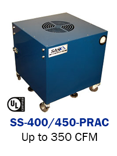 Portable ambient Air Cleaner - 400 Model
