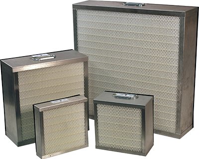 HEPA Particulate Filters for Fume Extractors