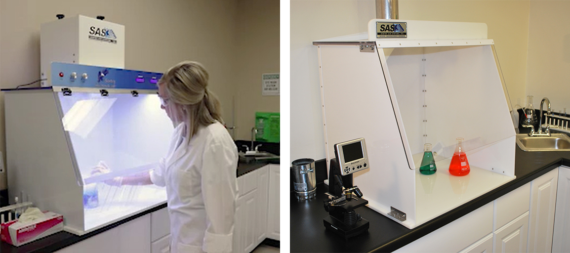 Ductless vs Ducted Laboratory Fume Hoods