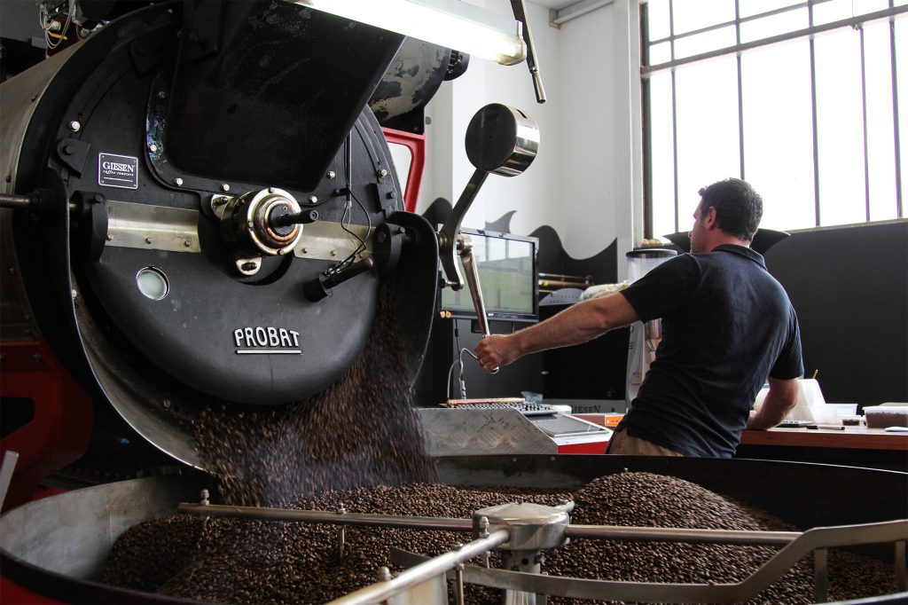 diacetyl coffee production
