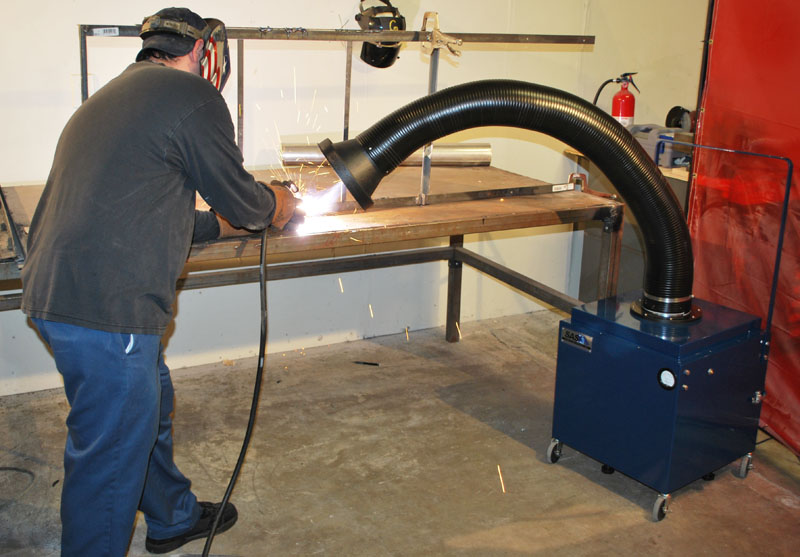 welding fume extractor including hexavalent chromium - Welding Fume Extractor