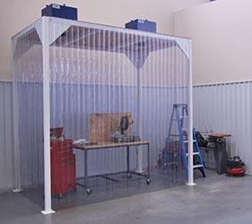 Machine Enclosure Hoods Amp Walk In Fume Hoods