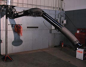 Heavy Duty Fume Extractor Arm