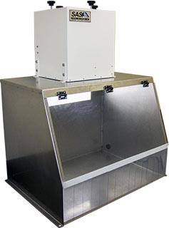 30 Stainless Steel Fume Hood