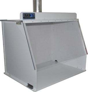 Ducted Fume Hood For Exterior Exhaust 40 Inches Wide