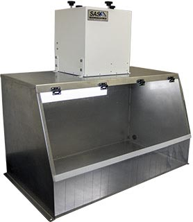 40 Stainless Steel Fume Hood