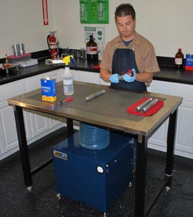 Industrial Downdraft Table